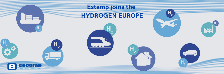 ESTAMP JOINS THE HYDROGEN EUROPE